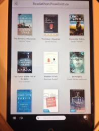 Readathon 2014 ebooks